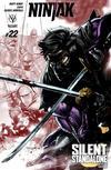 Cover for Ninjak (Valiant Entertainment, 2015 series) #22 [Cover A - Stephen Segovia]