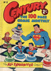 Cover for Century, The 100 Page Comic Monthly (K. G. Murray, 1956 series) #2