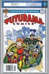 Cover Thumbnail for Bongo Comics Presents Futurama Comics (2000 series) #8 [Newsstand Edition]