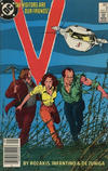 Cover for V (DC, 1985 series) #8 [Canadian]