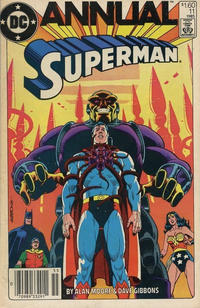Cover Thumbnail for Superman Annual (DC, 1960 series) #11 [Canadian]