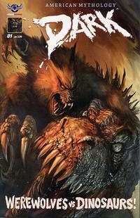 Cover Thumbnail for American Mythology Dark: Werewolves vs. Dinosaurs (American Mythology Productions, 2016 series) #1 [Ferocious Cover]