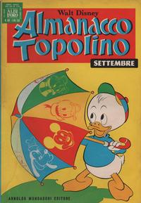 Cover Thumbnail for Almanacco Topolino (Arnoldo Mondadori Editore, 1957 series) #189