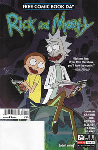 Cover Thumbnail for Rick and Morty: Free Comic Book Day 2017 (Oni Press, 2017 series)
