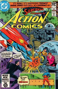 Cover Thumbnail for Action Comics (DC, 1938 series) #515 [Direct Sales]