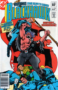 Cover Thumbnail for Blackhawk (DC, 1957 series) #256 [Newsstand]