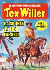 Cover Thumbnail for Tex Willer (Hjemmet / Egmont, 2014 series) #7 - På sporet av Tom Carrell