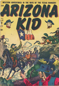 Cover Thumbnail for The Arizona Kid (Superior Publishers Limited, 1951 series) #5