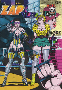Cover Thumbnail for Zap Comix (Last Gasp, 1982 ? series) #12 [4th print- 3.95 USD ]