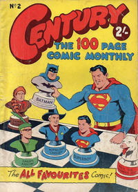 Cover Thumbnail for Century, The 100 Page Comic Monthly (K. G. Murray, 1956 series) #2