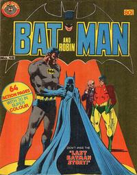 Cover Thumbnail for Batman and Robin (K. G. Murray, 1976 series) #16