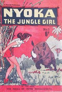 Cover Thumbnail for Nyoka the Jungle Girl (Cleland, 1949 series) #3