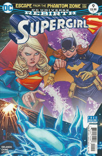Cover Thumbnail for Supergirl (DC, 2016 series) #9 [Brian Ching Cover]