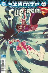 Cover Thumbnail for Supergirl (DC, 2016 series) #9 [Bengal Cover]