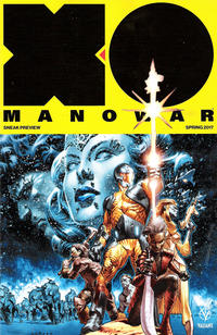 Cover Thumbnail for X-O Manowar (2017) Spring Preview (Valiant Entertainment, 2017 series)