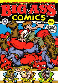 Cover Thumbnail for Big Ass Comics (Last Gasp, 1991 ? series) #2 [Sixth Printing]