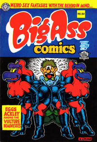 Cover Thumbnail for Big Ass Comics (Last Gasp, 1991 ? series) #1 [Eleventh Printing]