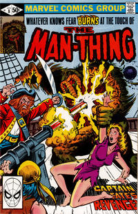 Cover Thumbnail for Man-Thing (Marvel, 1979 series) #8 [Direct]