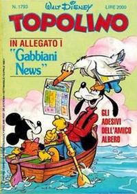 Cover Thumbnail for Topolino (Disney Italia, 1988 series) #1793