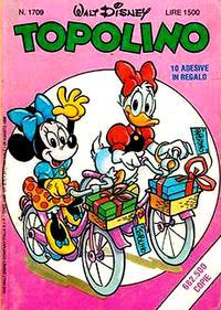 Cover Thumbnail for Topolino (The Walt Disney Company Italia, 1988 series) #1709