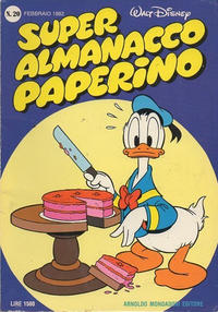 Cover Thumbnail for Super Almanacco Paperino (Arnoldo Mondadori Editore, 1980 series) #20