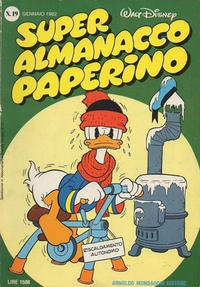 Cover Thumbnail for Super Almanacco Paperino (Arnoldo Mondadori Editore, 1980 series) #19