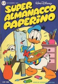 Cover Thumbnail for Super Almanacco Paperino (Arnoldo Mondadori Editore, 1980 series) #17