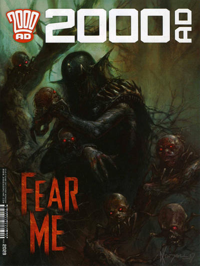 Cover for 2000 AD (Rebellion, 2001 series) #2029