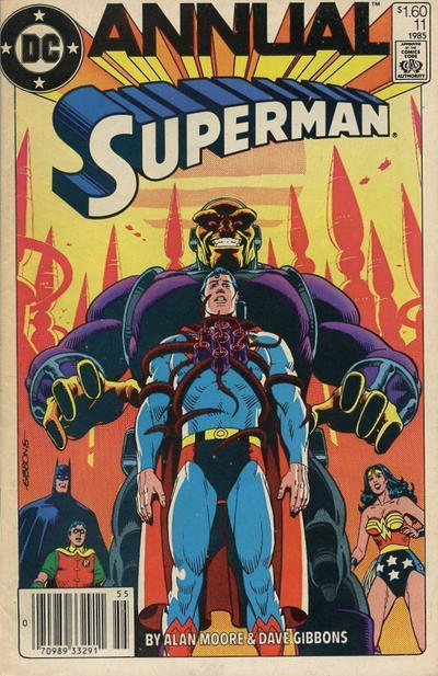 Cover for Superman Annual (DC, 1960 series) #11 [Direct]