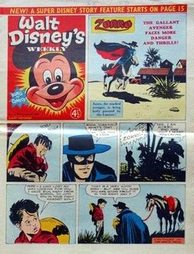 Cover for Walt Disney's Weekly (Disney/Holding, 1959 series) #v1#38