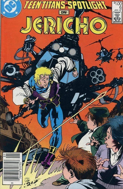 Cover for Teen Titans Spotlight (DC, 1986 series) #6 [Direct Sales]