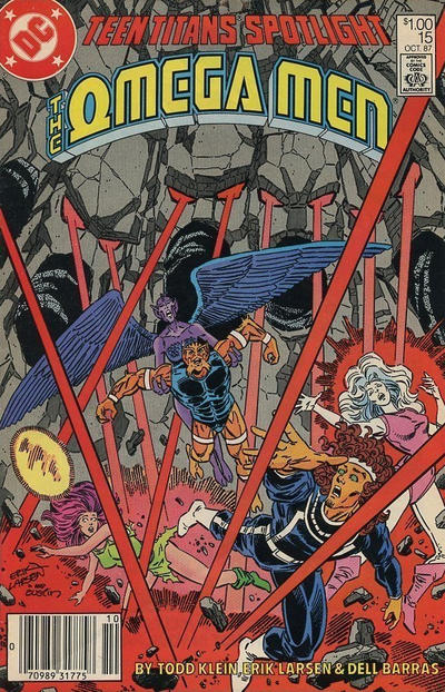 Cover for Teen Titans Spotlight (DC, 1986 series) #15 [Direct Sales]
