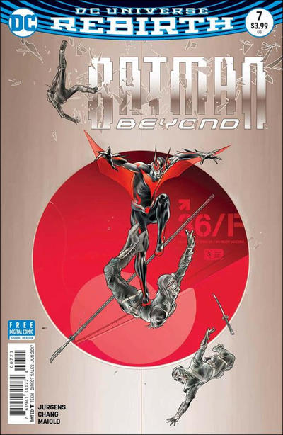 Cover for Batman Beyond (DC, 2016 series) #7 [Martin Ansin Cover]