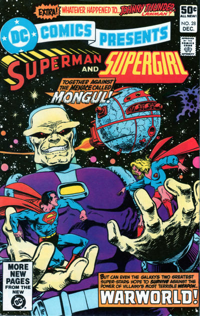 Cover for DC Comics Presents (DC, 1978 series) #28 [Direct Sales]