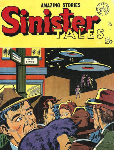 Cover for Sinister Tales (Alan Class, 1964 series) #111