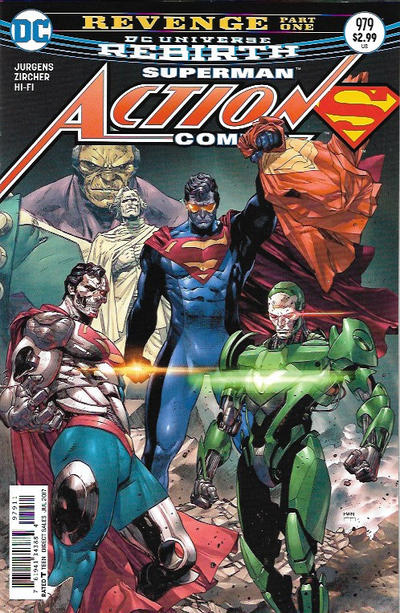 Cover for Action Comics (DC, 2011 series) #979
