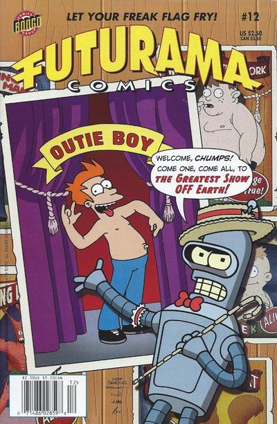 Cover for Bongo Comics Presents Futurama Comics (Bongo, 2000 series) #12 [Direct Edition]