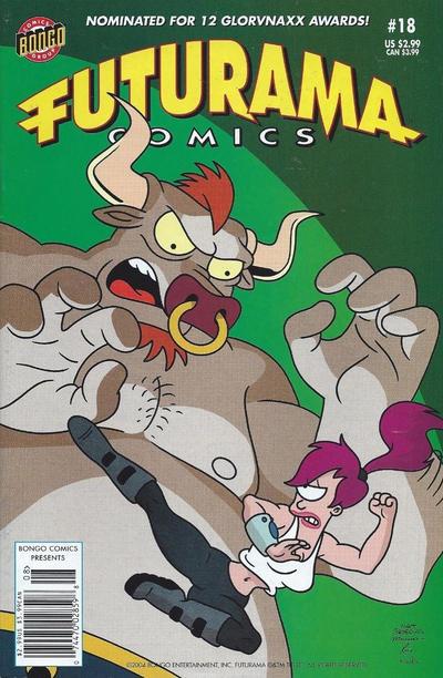 Cover for Bongo Comics Presents Futurama Comics (Bongo, 2000 series) #18