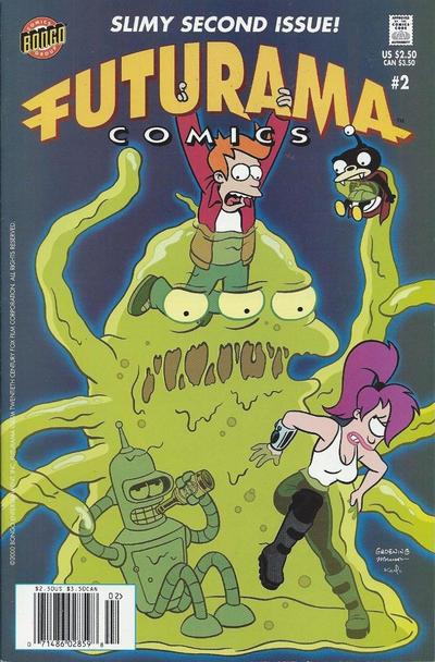 Cover for Bongo Comics Presents Futurama Comics (Bongo, 2000 series) #2