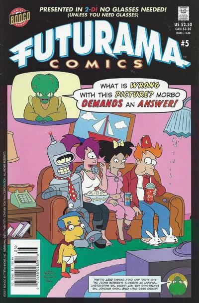 Cover for Bongo Comics Presents Futurama Comics (Bongo, 2000 series) #5