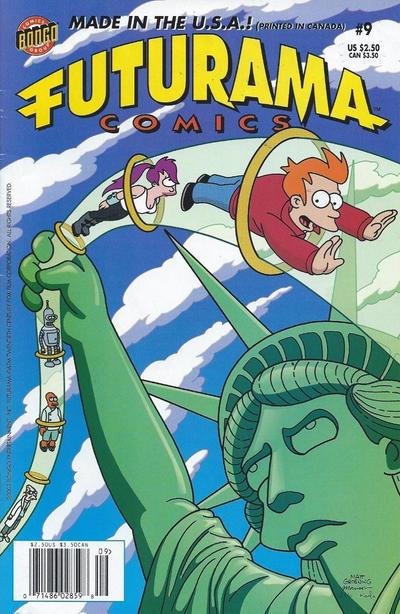 Cover for Bongo Comics Presents Futurama Comics (Bongo, 2000 series) #9