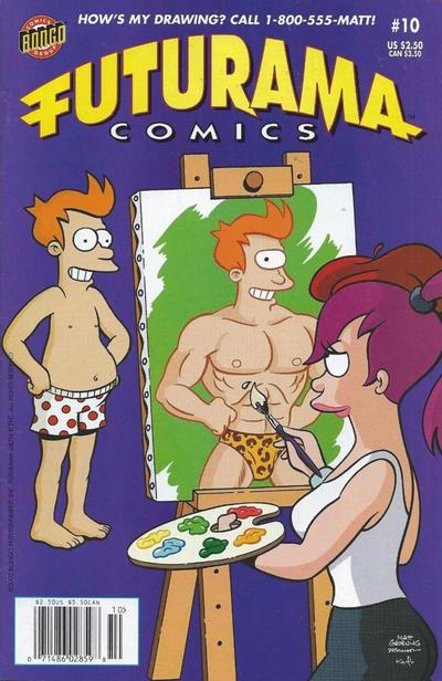 Cover for Bongo Comics Presents Futurama Comics (Bongo, 2000 series) #10