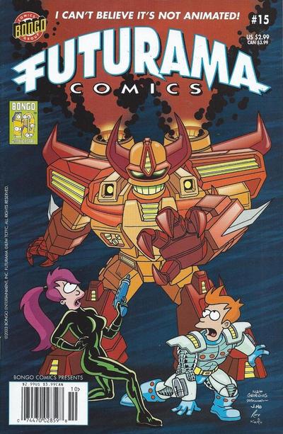 Cover for Bongo Comics Presents Futurama Comics (Bongo, 2000 series) #15