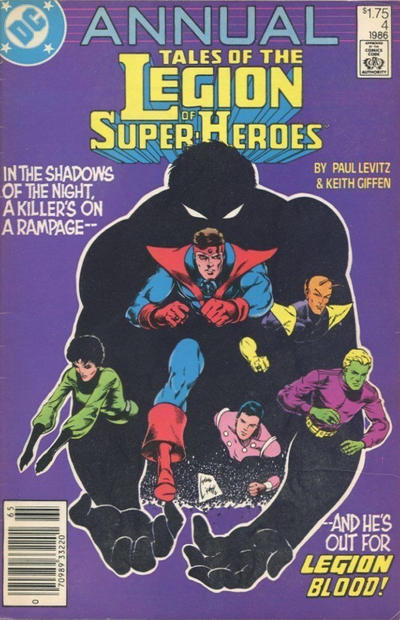 Cover for Tales of the Legion of Super-Heroes Annual (DC, 1986 series) #4 [Canadian]