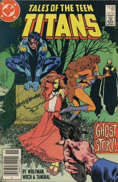 Cover for Tales of the Teen Titans (DC, 1984 series) #71 [Direct Sales]