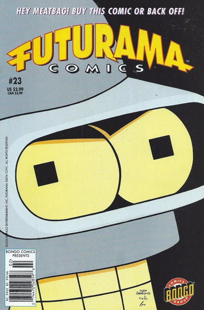 Cover for Bongo Comics Presents Futurama Comics (Bongo, 2000 series) #23