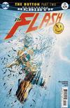 Cover for The Flash (DC, 2016 series) #21 [Jason Fabok Non-Lenticular Cover]