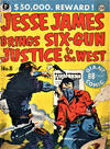 Cover for Jesse James Comics (Thorpe & Porter, 1952 series) #8