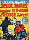 Cover for Jesse James Comics (Thorpe & Porter, 1952 series) #8