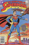 Cover for Adventures of Superman (DC, 1987 series) #424 [Canadian]